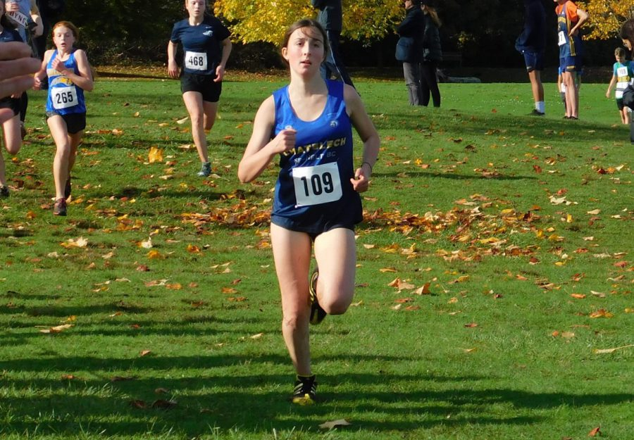 Megan running her way to the Provincials!